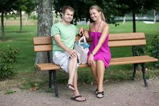 Free Smiling Couple Royalty Free Stock Photography - 15863377