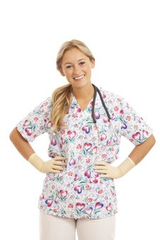 Free Portrait Of Young Nurse Stock Photos - 15863563
