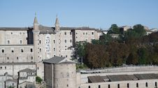 Free Castle Of Urbino Stock Image - 15863611