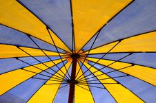 Free Beach Umbrella Detail Royalty Free Stock Images - 15864089