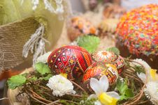Free Traditional Russian Easter Background Stock Photography - 15864262