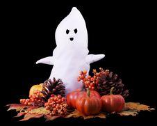 Free Fall Halloween Ghost Stock Image - 15864321