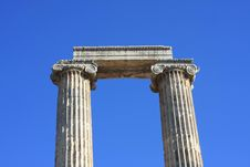 Free A View Of  Temple Of Apollo Royalty Free Stock Image - 15864356