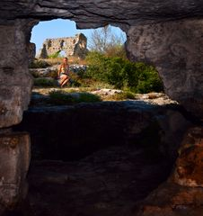 Free View From The Obsolete Cave House In Mangup Kale Royalty Free Stock Images - 15864709