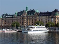 Quays Of Stockholm Royalty Free Stock Images