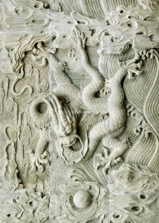 Free Chinese Dragon S Relief Stock Image - 15865261