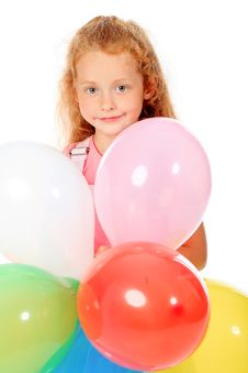 Free Birthday Balloons Royalty Free Stock Photos - 15865768