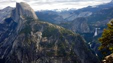 Free Half Dome And The Yosemite Valley Stock Photos - 15866183