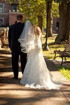 Free Bride And Groom Royalty Free Stock Images - 15866439