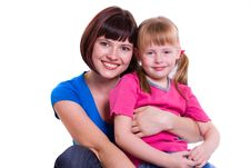 Free Mother And Daughter Royalty Free Stock Photography - 15866557
