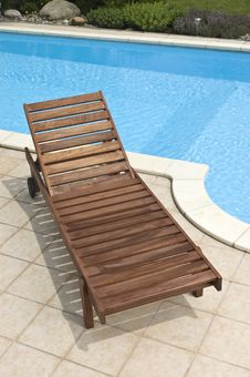 Free Wooden Deckchair Stock Photos - 15867053