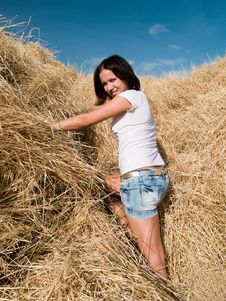 Free Haystack Royalty Free Stock Photo - 15867185