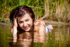 Free Beautiful Girl In Water Stock Photos - 15867953