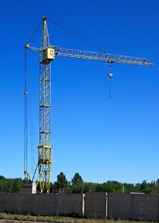 High-altitude Crane. Stock Images