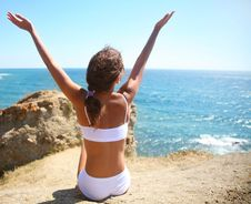 Free Sun Greeting Stock Image - 15868511
