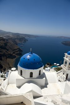 Free Church Bells On Santorini Island Stock Photo - 15868690