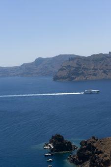 Free Gorgeous View Of Romantic Santorini Stock Photography - 15868702
