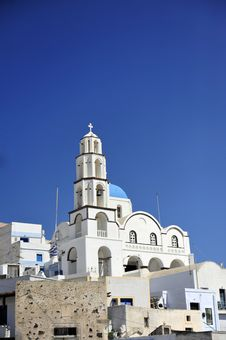 Free Church Bells On Santorini Island Stock Photos - 15868743