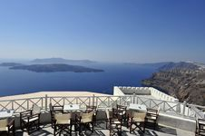Free Gorgeous View Of Romantic Santorini Stock Image - 15868811