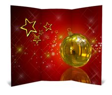 Free 3D Christmas Greeting Card Stock Photography - 15869022