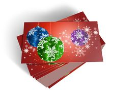 Free 3D Christmas Greeting Card Stock Photo - 15869070