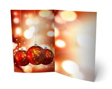 Free 3D Christmas Greeting Card Royalty Free Stock Photography - 15869077
