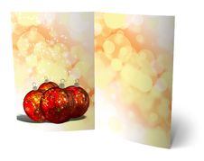 Free 3D Christmas Greeting Card Stock Image - 15869081