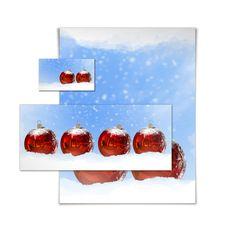 Free 3D Christmas Greeting Card Stock Photos - 15869143