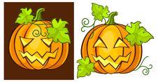 Free Halloween Pumpkins Royalty Free Stock Photos - 15869428