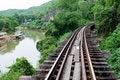 Free Bridge At The River Kwai, Thamkrasae Bridge Royalty Free Stock Images - 15872769
