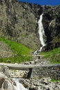 Free Mountain River With Waterfall In Norway Stock Images - 15878794