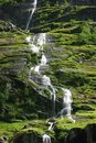 Free Mountain River With Waterfall In Norway Stock Image - 15878841