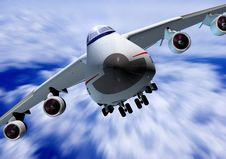 Free A Passenger Plane Stock Photography - 15870042