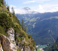 Free Koenigssee From The Gruensteinhuette Royalty Free Stock Photos - 15870408