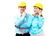 Free Young Architects Royalty Free Stock Photography - 15870957