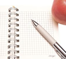 Free Open Spiral Bound Notebook Stock Image - 15871101