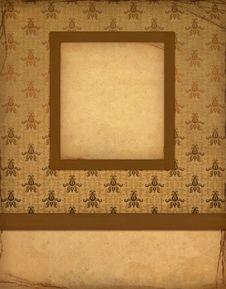 Free Old Wallpaper Royalty Free Stock Image - 15871326