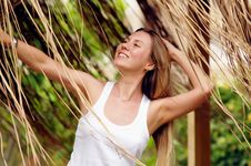 Free Woman Outdoors Royalty Free Stock Image - 15871596
