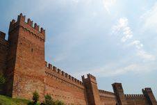 Free Old Gradara  S Castle Stock Photos - 15871653