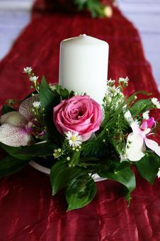 Free Wedding Candle Royalty Free Stock Images - 15871869