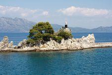 Free Coast Of Trpanj In Croatia Royalty Free Stock Photo - 15871985