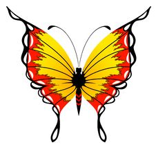 Free Beautiful Butterfly Royalty Free Stock Photography - 15872127