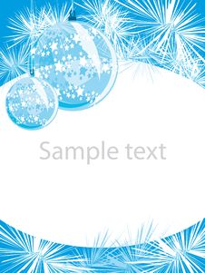 Free Christmas Layout Royalty Free Stock Photo - 15872205