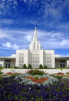 Free Mormon Temple Royalty Free Stock Photos - 15872848