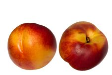 Fruit  Hybrid  Peach  Apricot  Nectarine Stock Photo