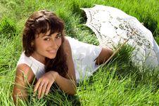 Free White And Green Stock Photos - 15873603