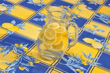 Free Pitcher Lemon Aid Royalty Free Stock Photos - 15873918