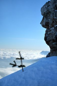 Free Winter Mountain Landscape Royalty Free Stock Photos - 15873988
