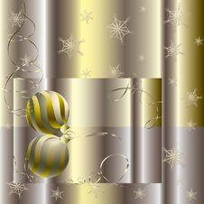 Free Golden Christmas Ball Stock Photo - 15874170