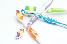 Free Colourful Toothbrushes Stock Photos - 15874393